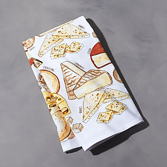 Assorted Cheeses Dish Towel