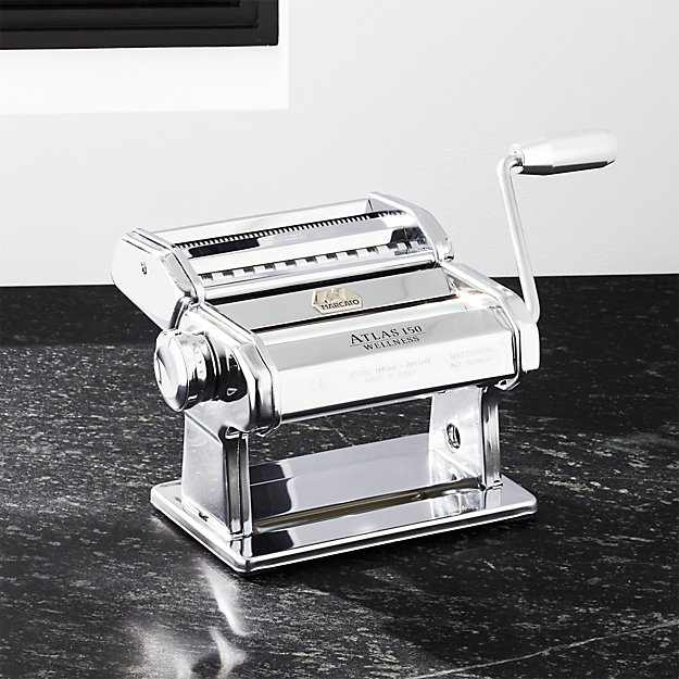 Atlas 150 Aluminum Pasta Maker Reviews Crate And Barrel
