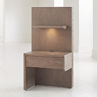 Atlas Left One Panel Night Stand with Light