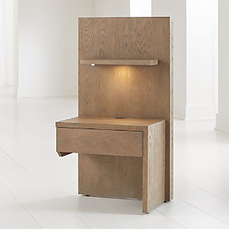 Atlas Right One Panel Night Stand with Light