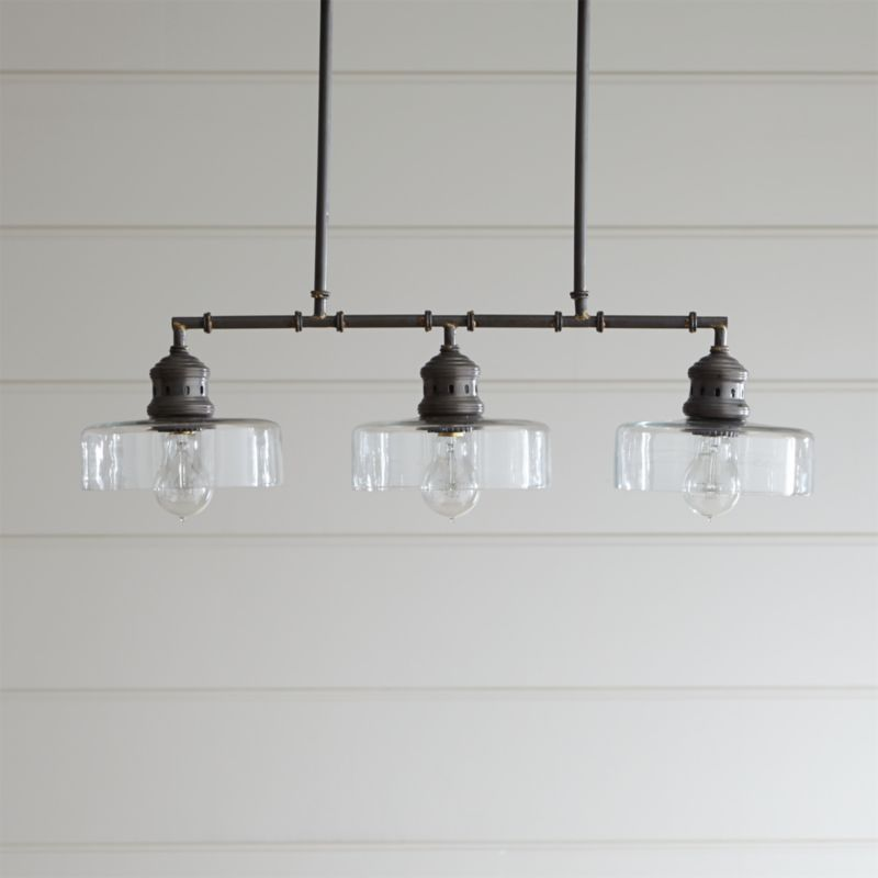kitchen pendant lighting atwell pendant light reviews crate and barrel 2426