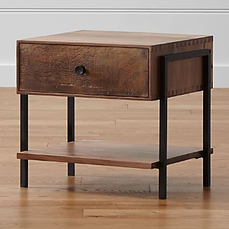 Contemporary Nightstands Crate And Barrel