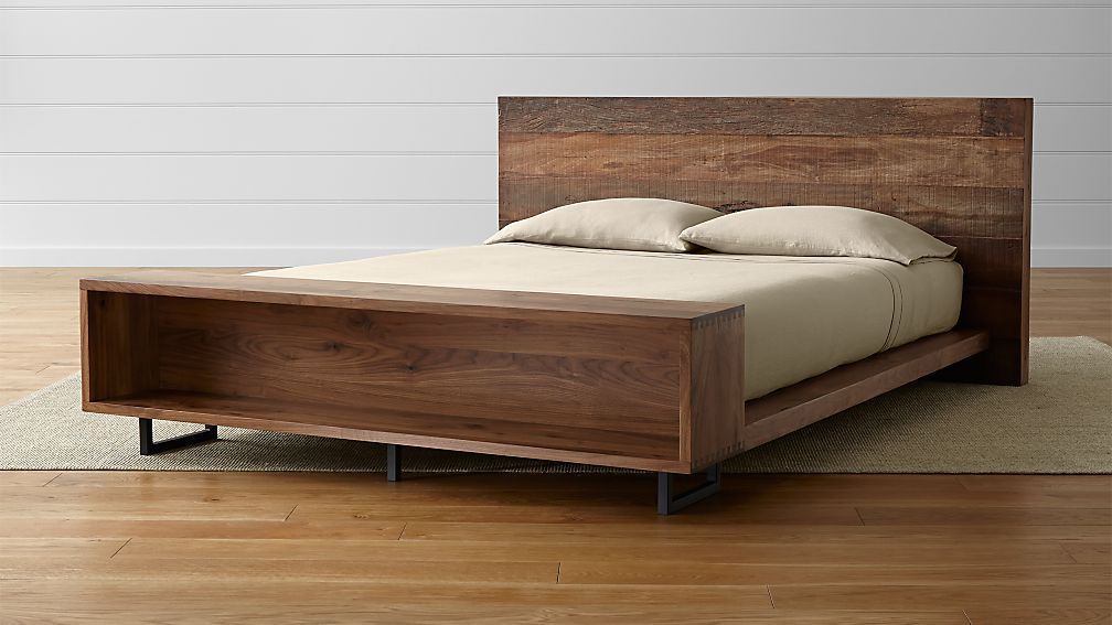 Atwood Queen Bed with Bookcase - Image 1 of 12