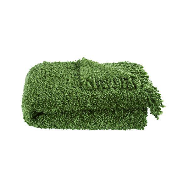Aubree Green Throw