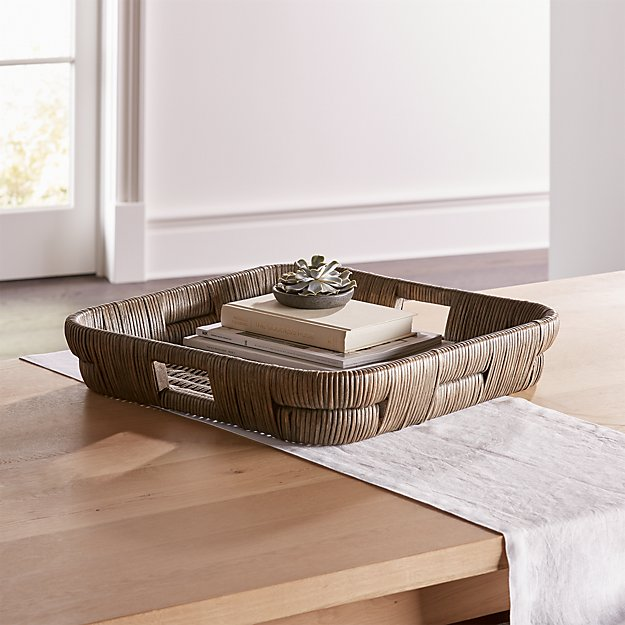 Auburn Square Woven Tray - Image 1 of 3