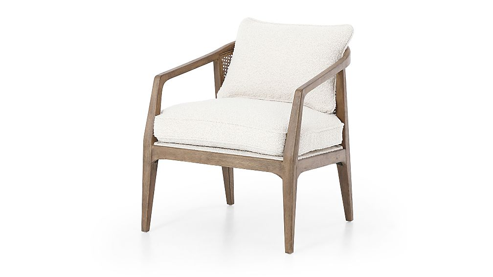 Audra Rattan Back Chair - Image 1 of 11