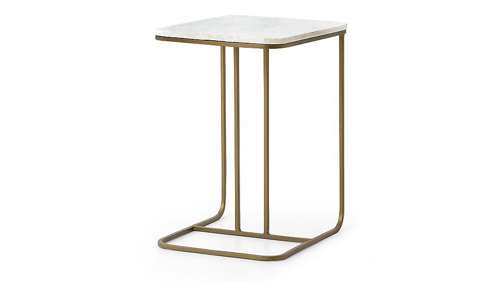 Audrey Marble C Table - Image 1 of 6