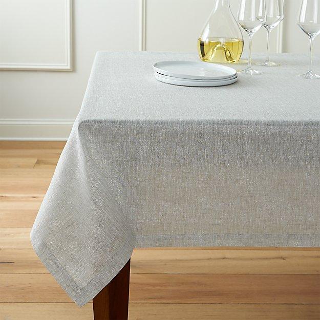 "Aurora Linen 60""x90"" Tablecloth"