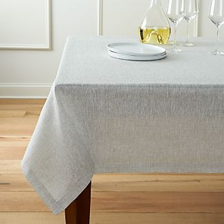 "Aurora Linen Tablecloth 60""x144"""