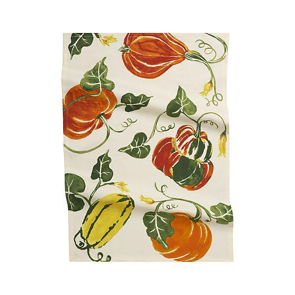 Autumn Harvest Dish Towel