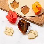 Set of 3 Autumn Pie Crust Cutters