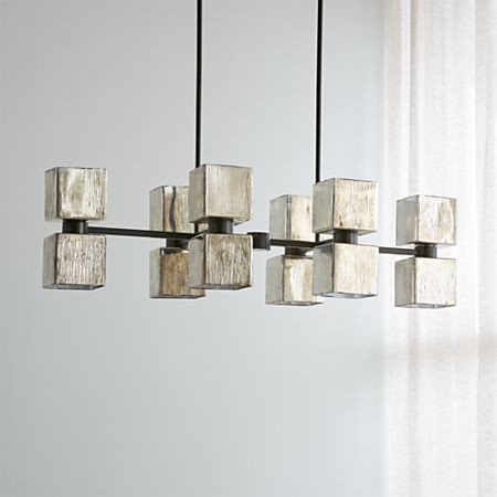 Ava Linear Chandelier Reviews Crate