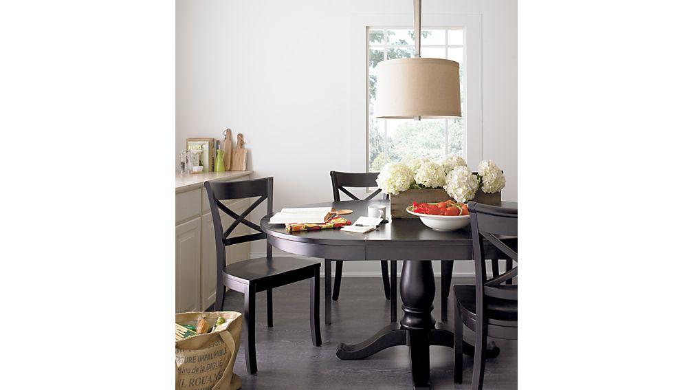Vintner Black Wood Dining Chair