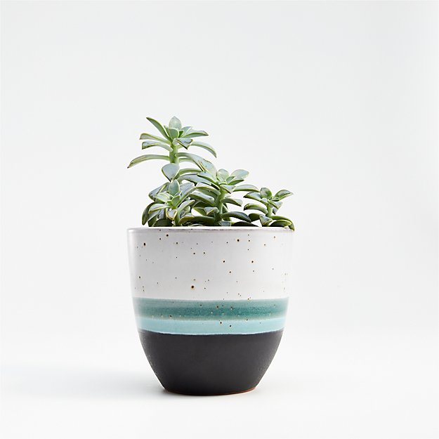 Aveiro Small Blue Planter - Image 1 of 8