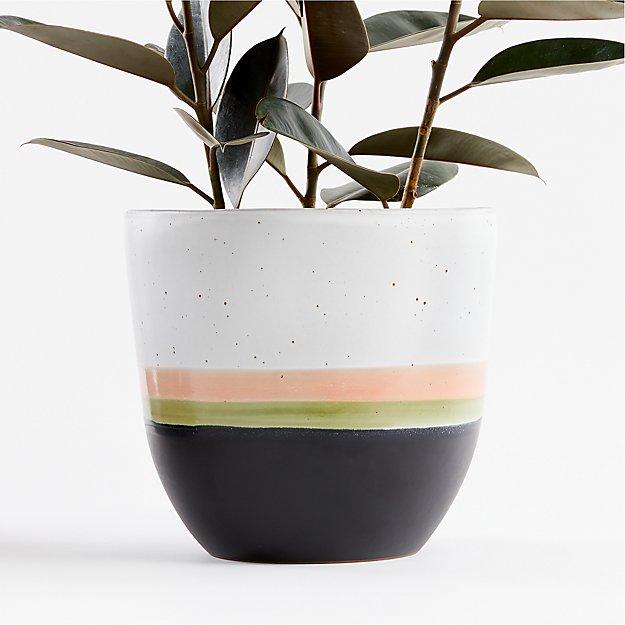 Aveiro Large Blush Planter - Image 1 of 8