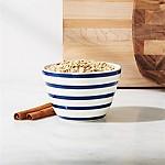 Avery Blue Stripe Mini Mixing Bowl