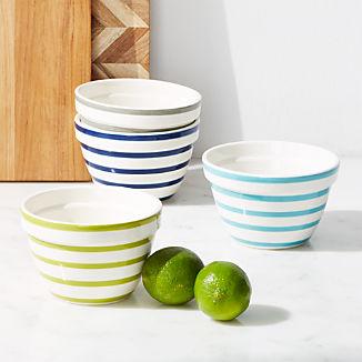 Avery Striped Mini Mixing Bowls