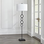 Axiom Black Floor Lamp