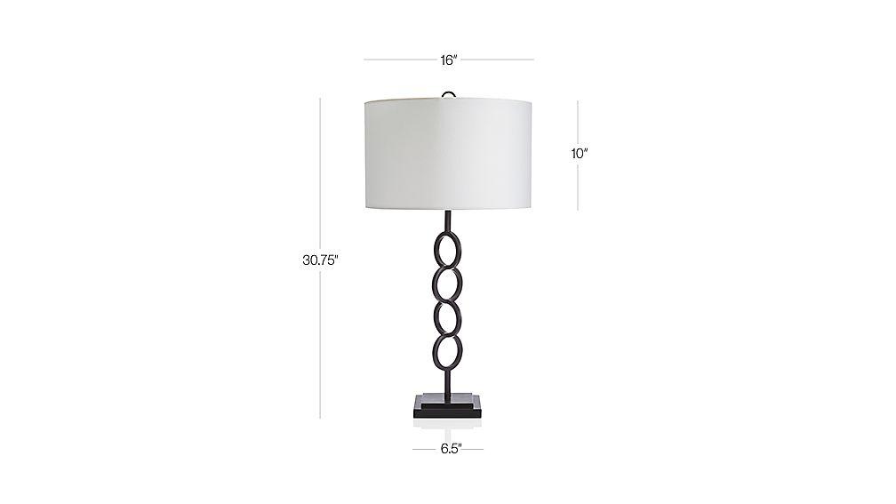 Axiom Black Geometric Floor Lamp Crate And Barrel
