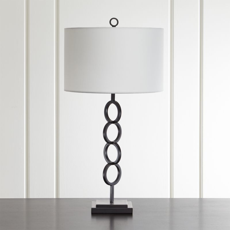 crate and barrel lighting fixtures. Axiom Black Table Lamp Crate And Barrel Lighting Fixtures R