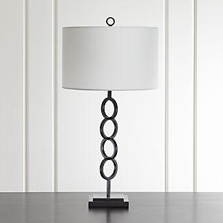 Axiom Black Table Lamp