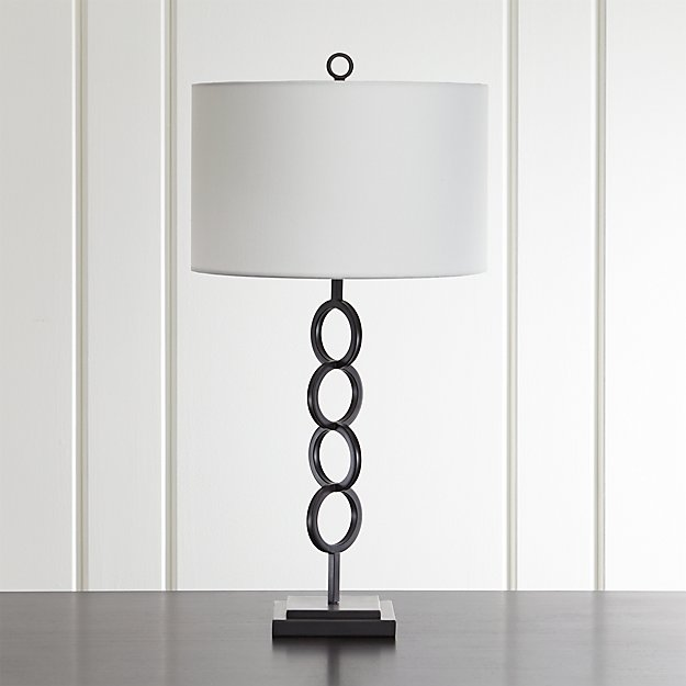 Axiom black geometric table lamp reviews crate and barrel axiomblktablelampshf17 mozeypictures Choice Image