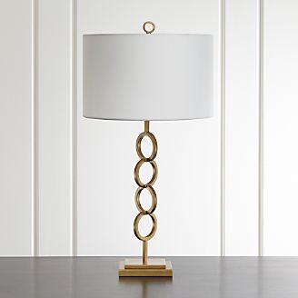 Axiom Brass Table Lamp