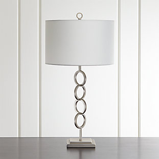 Axiom Brushed Silver Geometric Floor Lamp Reviews