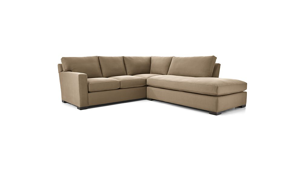 Axis II 2-Piece Right Bumper Sectional Sofa