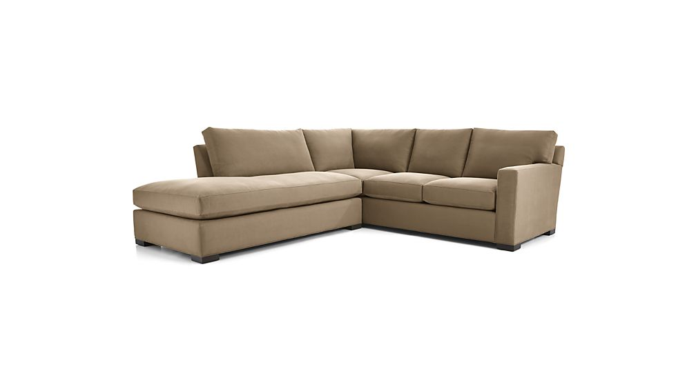 Axis II 2-Piece Left Bumper Sectional Sofa
