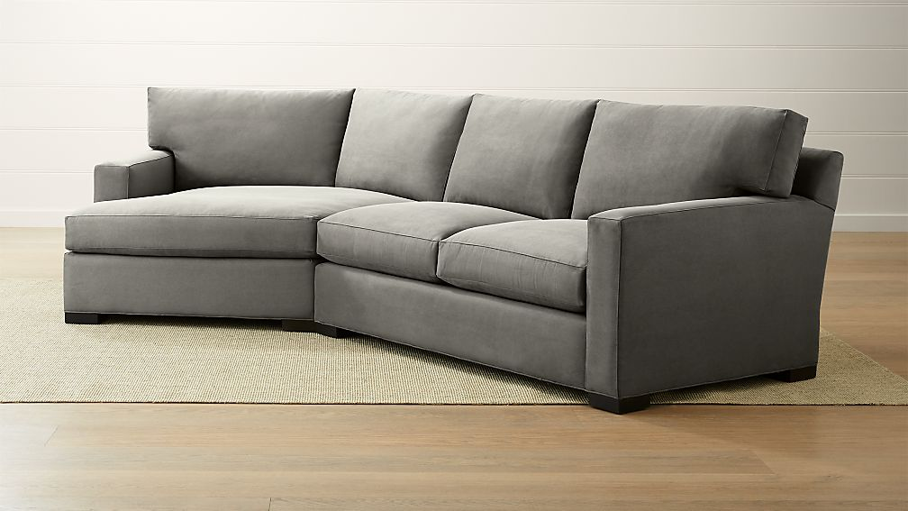 Axis II 2-Piece Left Arm Angled Chaise Sectional Sofa - Image 1 of 3