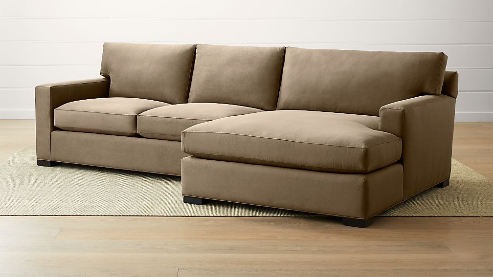 Axis II 2-Piece Right Arm Double Chaise Sectional Sofa ...