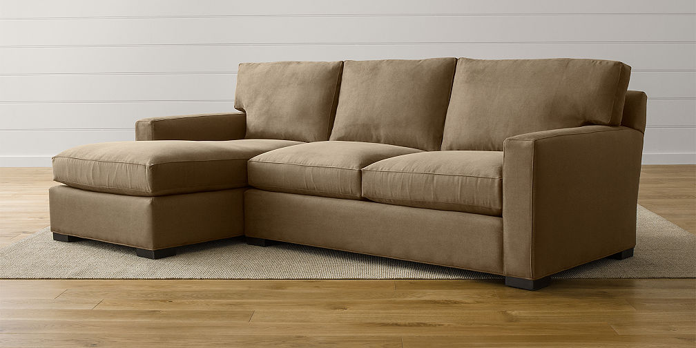 Axis Sectional Sofas : sectional couch with chaise - Sectionals, Sofas & Couches