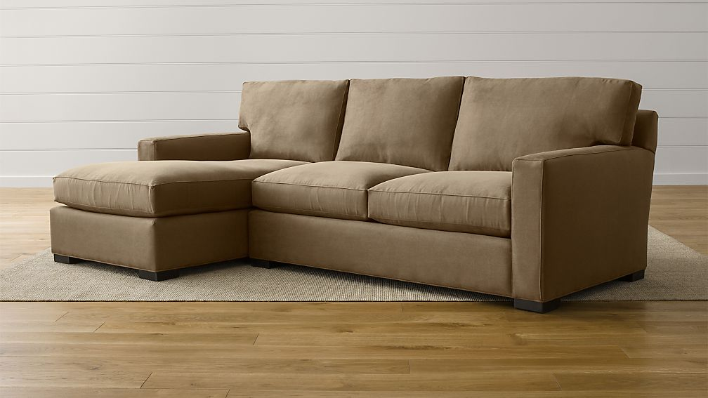 Axis Ii 2 Piece Sectional Couch Reviews Crate And Barrel