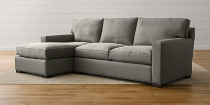 new concept 53ace e3aef Sectional Sofas - Love How You Live | Crate and Barrel