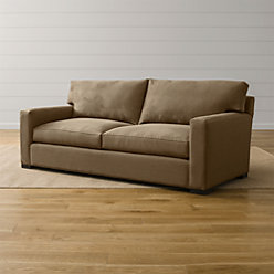 Axis Brown Seat Sofa Sofas Reviews Crate And