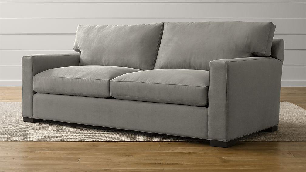 Axis Ii Grey Queen Sleeper Sofa Reviews Crate And Barrel