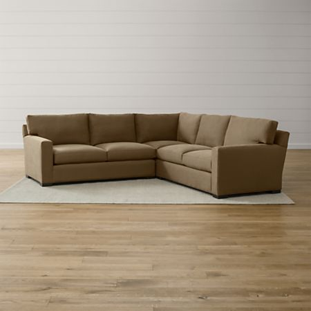 Peachy Axis Ii 3 Piece Sectional Sofa Alphanode Cool Chair Designs And Ideas Alphanodeonline