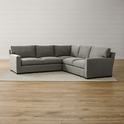 axis ii 3 piece sectional sofa