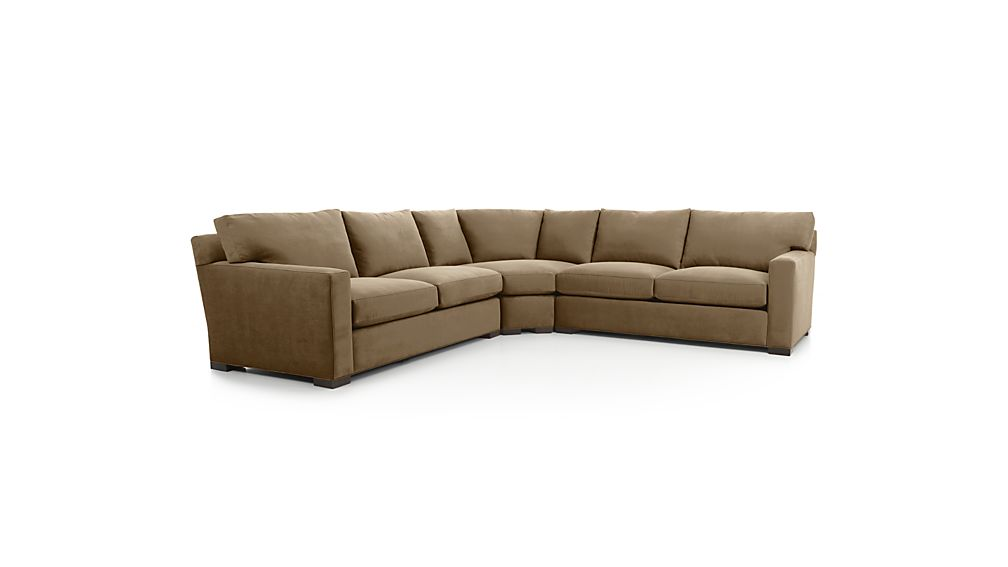 Crate and barrel axis ii sofa dimensions refil sofa for Axis ii 2 piece sectional sofa