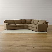 Magnificent Modular Sofas Crate And Barrel Lamtechconsult Wood Chair Design Ideas Lamtechconsultcom