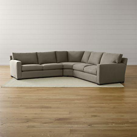 Axis Ii 3 Piece Sectional Sofa