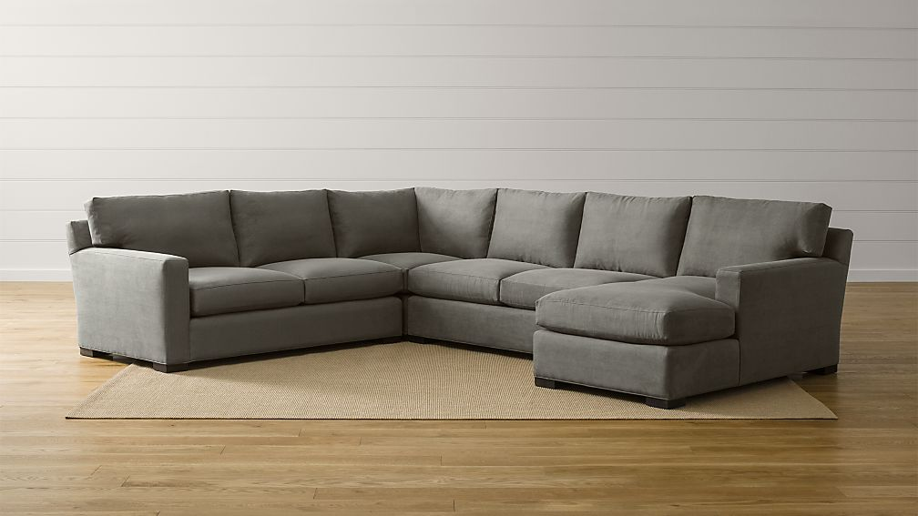 Axis Ii 4 Piece Sectional With Chaise Crate And Barrel