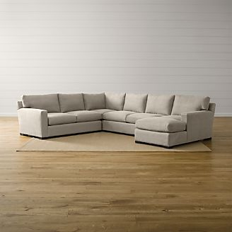 Merveilleux Axis II 4 Piece Sectional Sofa