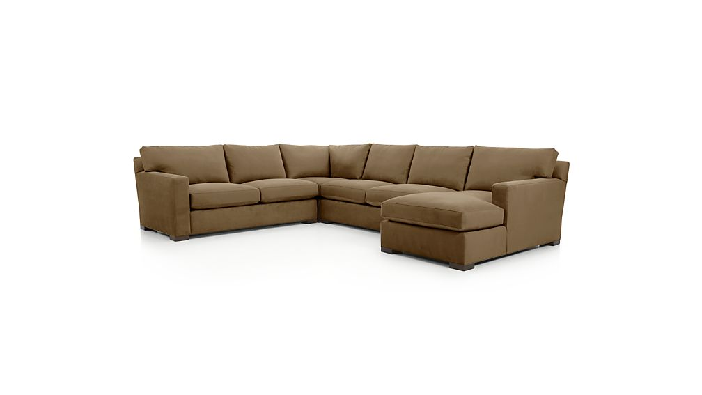 ... Axis II 4-Piece Sectional Sofa ...  sc 1 st  Crate and Barrel : sectional sofa clips - Sectionals, Sofas & Couches