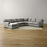 Stupendous Deep Sectional Sofas Crate And Barrel Pdpeps Interior Chair Design Pdpepsorg