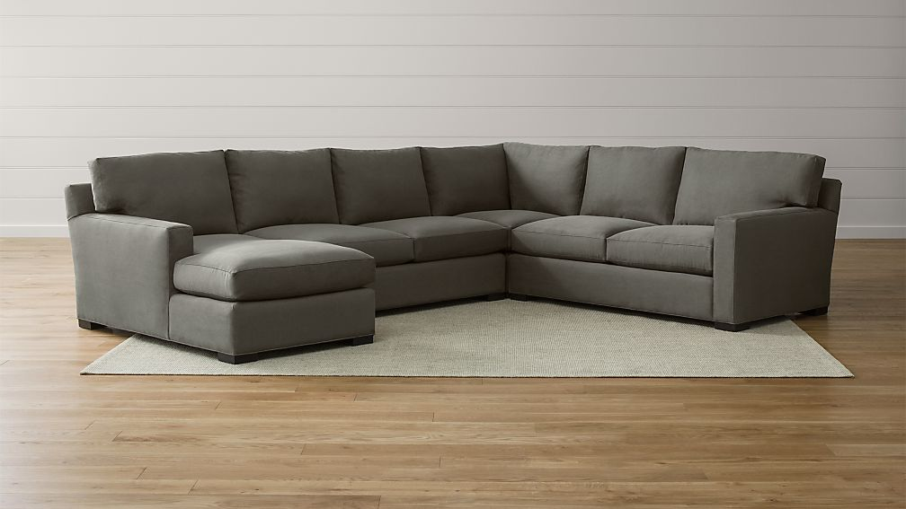 Axis Ii Corner Sectional With Chaise Reviews Crate And