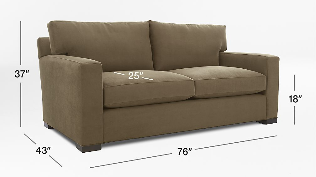Axis II Brown Upholstered Sleeper Sofa Crate And Barrel