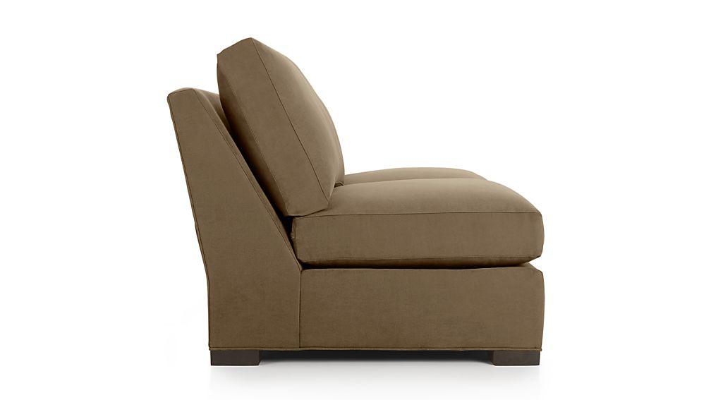 Axis II Armless Full Sleeper Sofa with Air Mattress