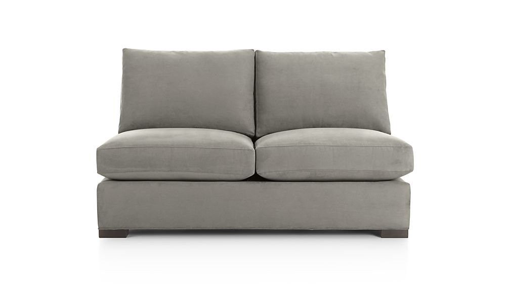 Armless Sleeper Sofa Full